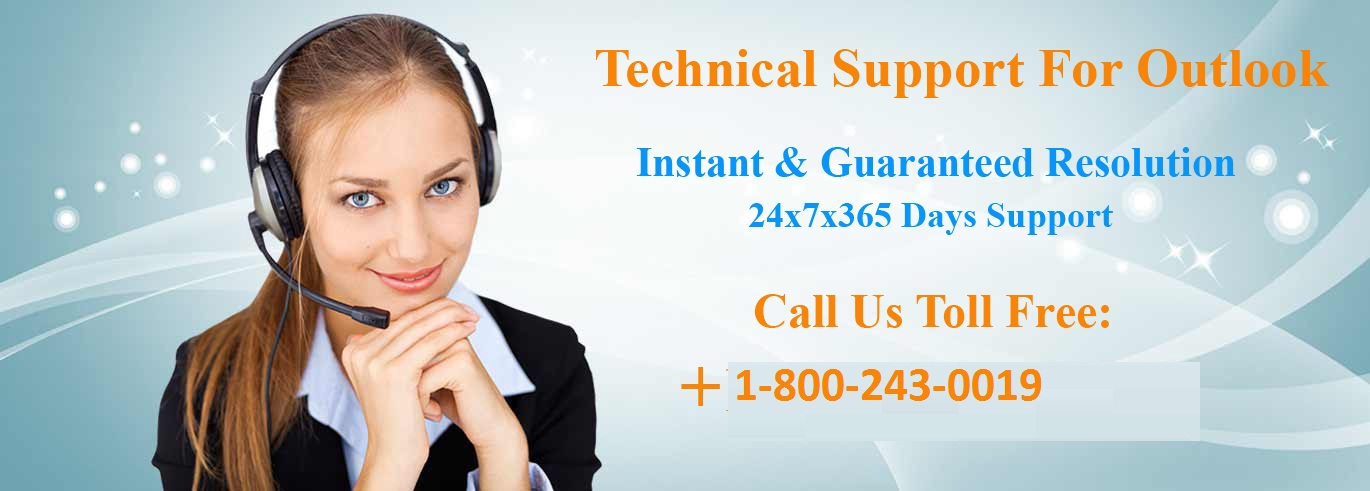 Outlook technical support