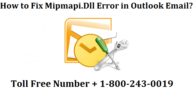Fix Mipmapi.Dll Error in Outlook Email